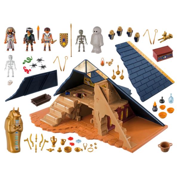 Pharaoh's Pyramid 5386, £69.99, Playmobil.