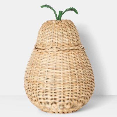 ferm living pear storage basket