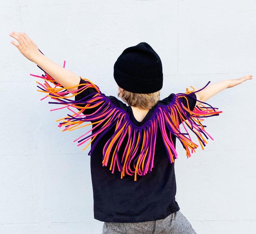 Zilla Kids fringe t-shirt
