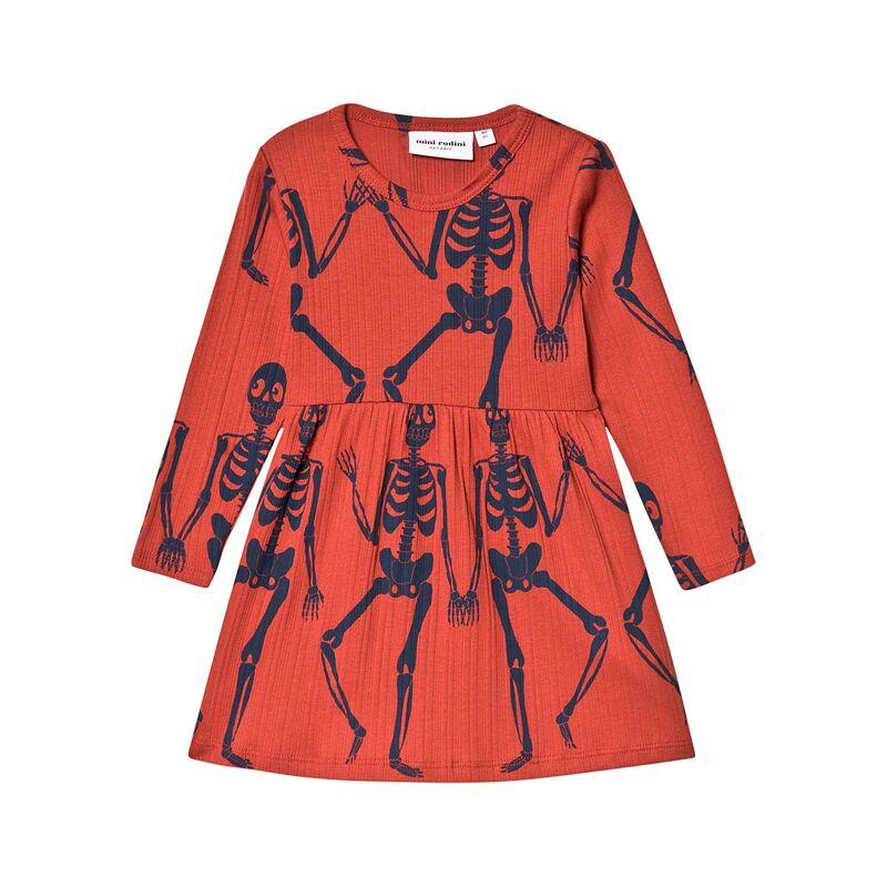 Mini Rodini skeleton dress