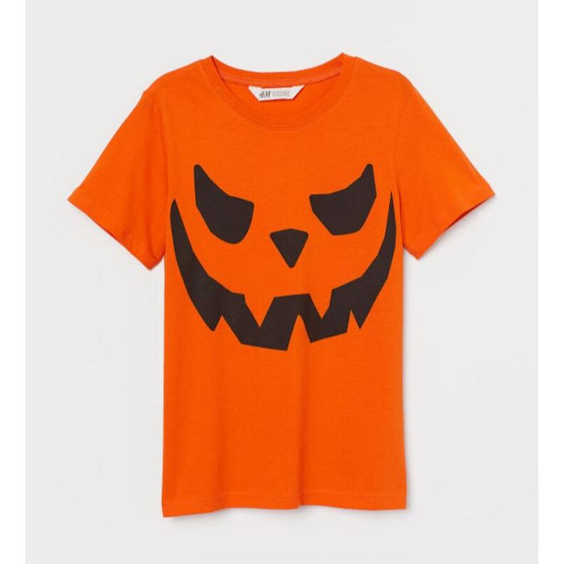 H&M pumpkin t-shirt