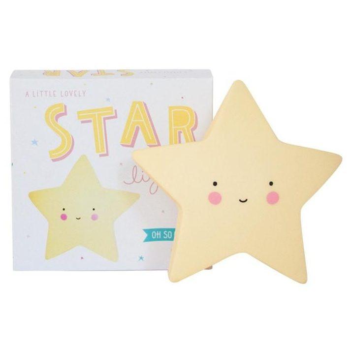 A Little Lovely Company Star Light, £10, Retro Kids
