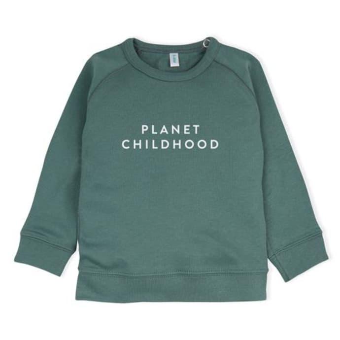 Planet Childhood Sweatshirt, £25, Organic Zoo