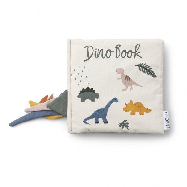 Liewood Dennis Dino Organic Book, £41, Smallable