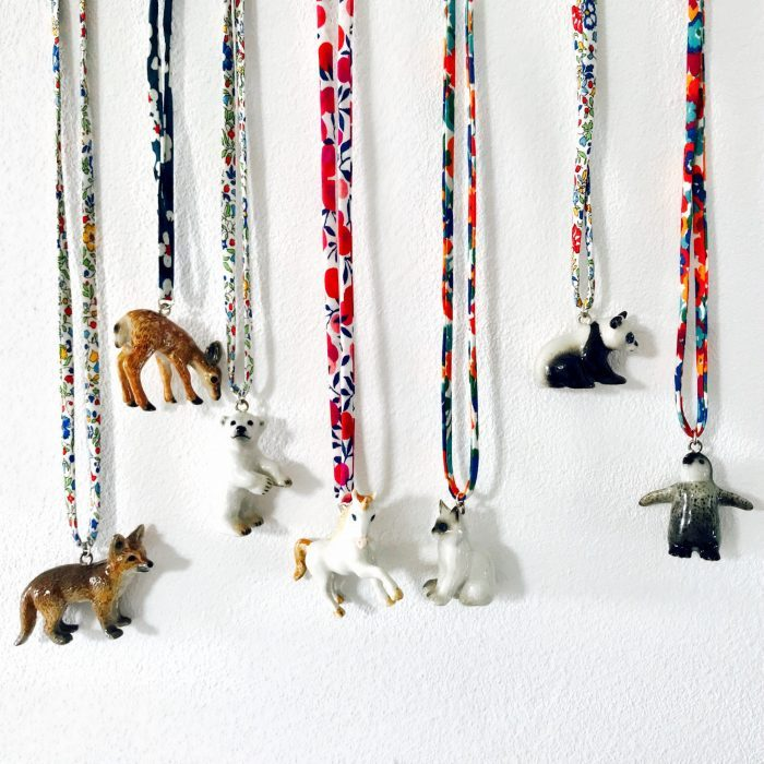 Ceramic Animal Necklace, £14.50, Shop BG