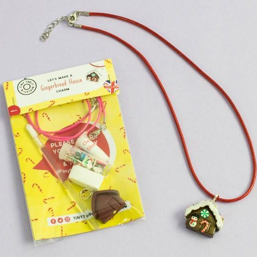 Gingerbread House charm kit, £6.95, Tiny Treat Boutique.