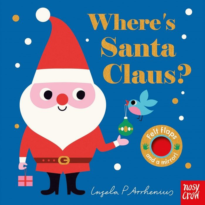 Ingela P Arrhenius Where's Santa Claus?, £5.24, Book Depository