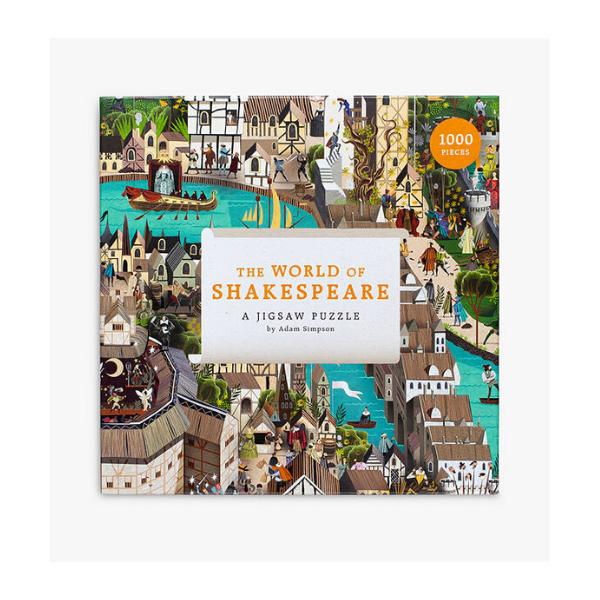World of Shakespeare 1000-piece jigsaw, £10.49, John Lewis.