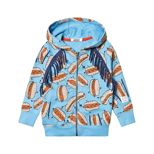 Indikidual Hot dog hoodie, £40, Alex & Alexa.