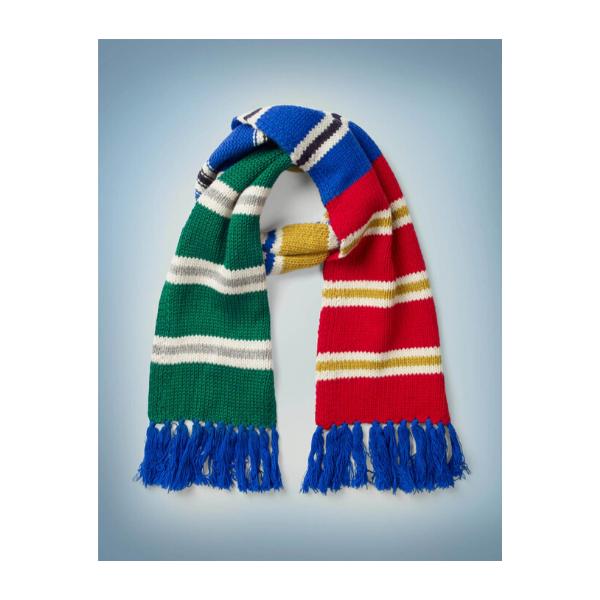 Hogwarts Houses scarf, £18, Boden.