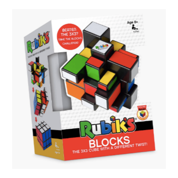 Rubik's Blocks, £12.99, John Lewis.