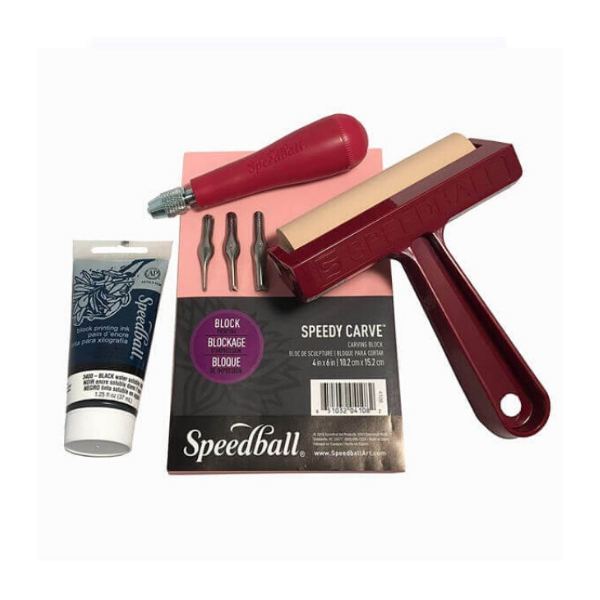Speedball Block Printing set, £28.99, London Graphic Centre.