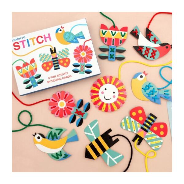 Learn to Stitch kit, £6.95, Rex London.