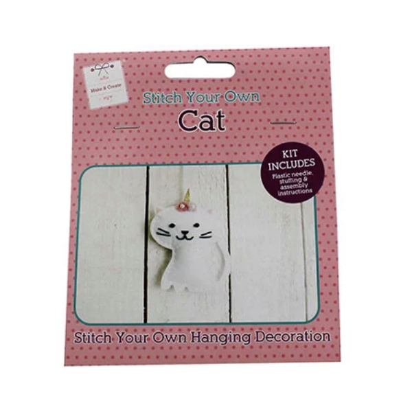 Stitch Your Own Cat Decoration, £1, The Works.