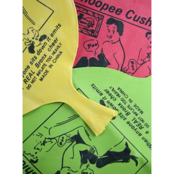 Whoopee cushion, 70p, The Little Things.