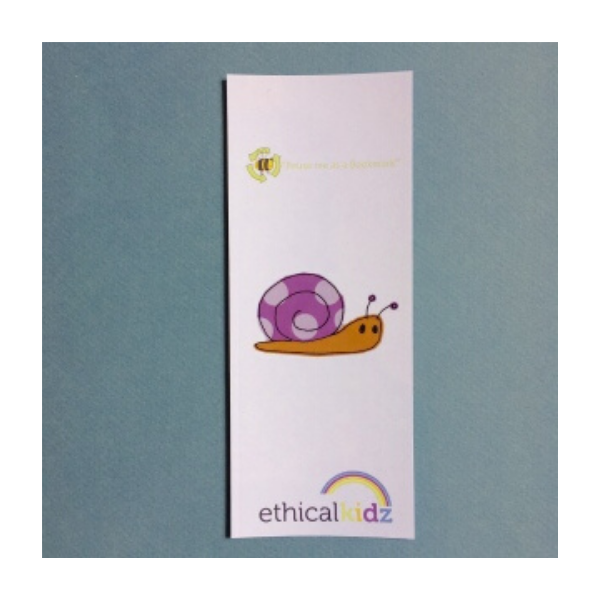 Recycled bookmark, 35p, Ethical Kidz.