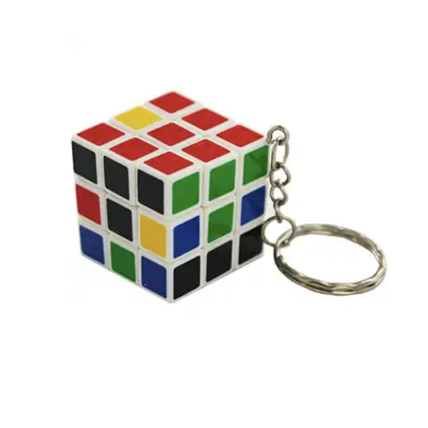 Magic cube keyring, £1, The Works.