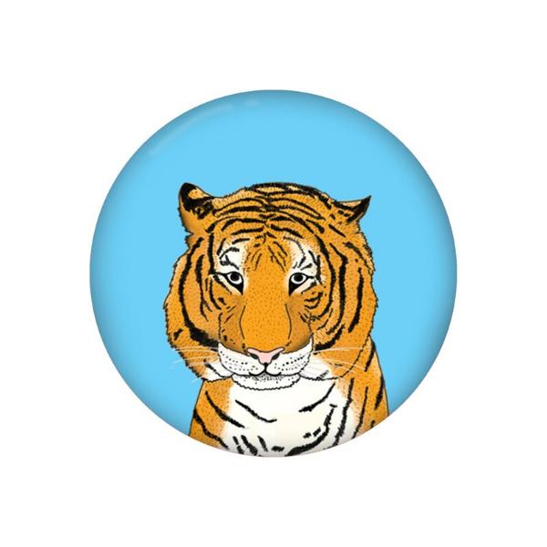 Lydia Meiying tiger badge, £1, Etsy.
