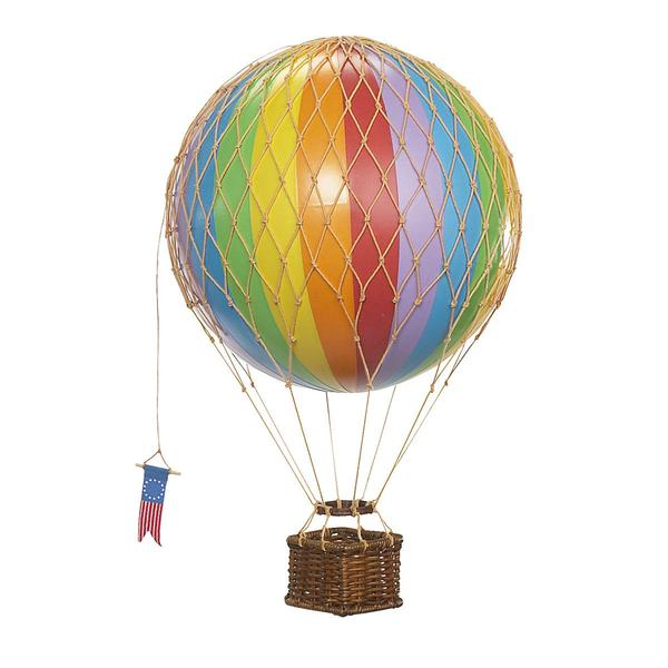 Vintage Rainbow Travels Air Balloon Toy, £39.99, Authentic Models