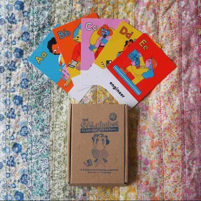 Boss Babs GALphabet cards