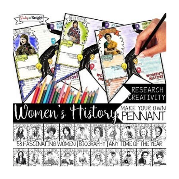 Women in History banner