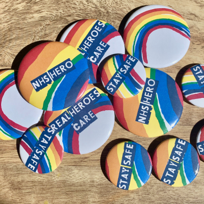 Safe/Hero/Rainbow badges