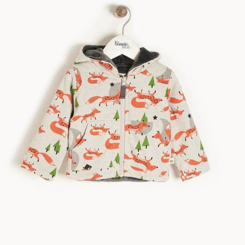 Fox baby hoodie, £39