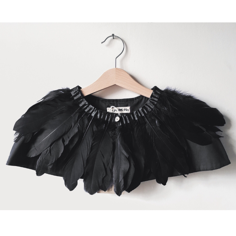 For Just One Day raven cape, £55