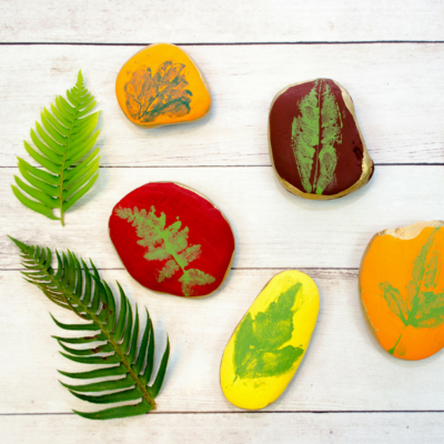 Five Fab… Leaf Craft Ideas