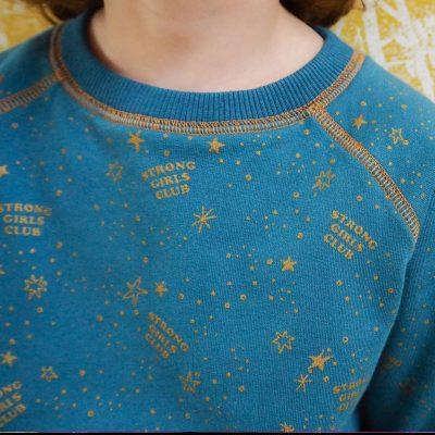 MuthaHood Little Stardust Strong Girls Club sweatshirt