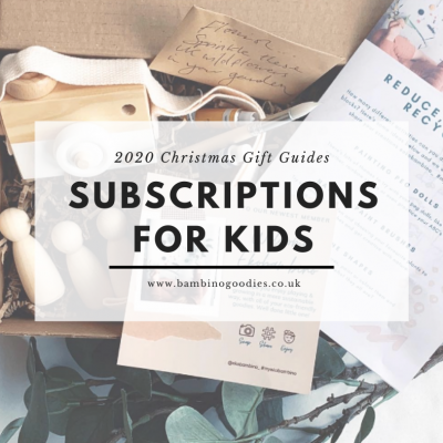 The BG Christmas Guide 2020: Subscriptions for kids