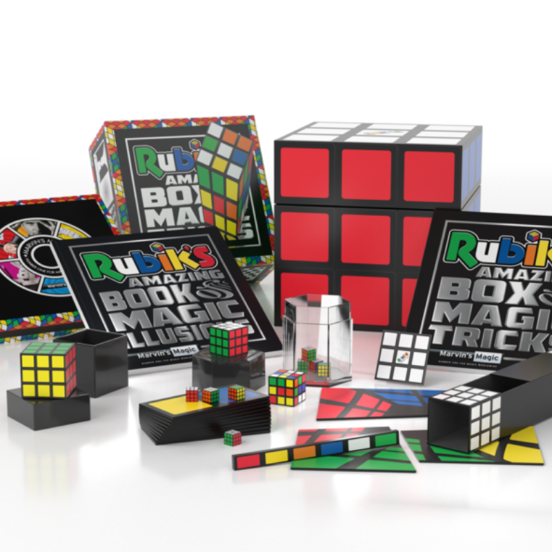Rubiks x Marvins Magic