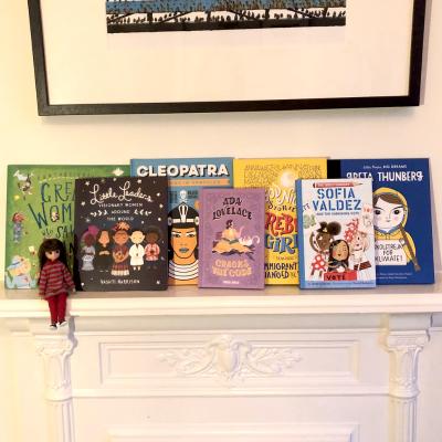 Empowering children's books for International Women's Day